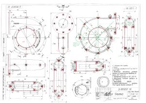 Улитка чертеж отливки проверка размеров