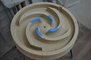 Модельная оснастка для отливки крыльчатки