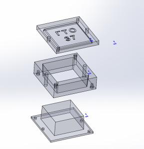 Пресс-форма алюминиевая