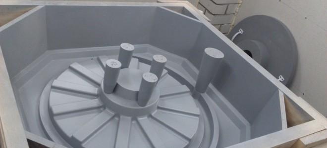 Модельный комплект для отливки крыльчатки центробежного насоса