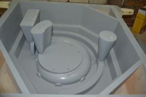 Модельный комплект для отливки улитки