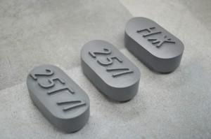 Вставки из модельного пластика