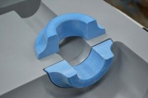 Вставка из модельного пластика
